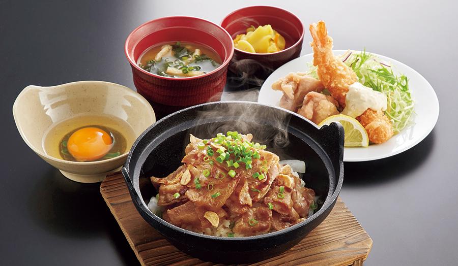 アツアツすたみな豚丼定食