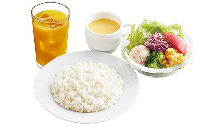 洋食セット(ドリンク・スープバー付)